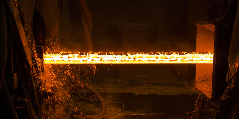 A steel mill protected by ITR's PdM process